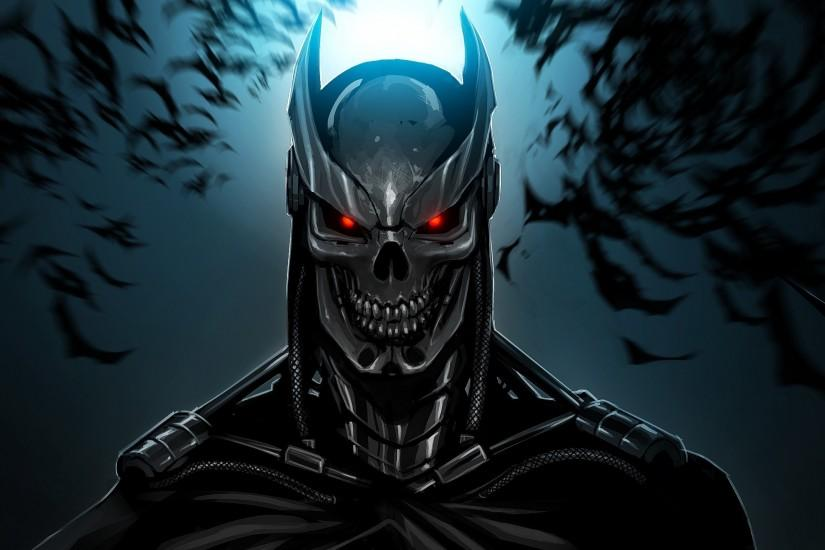 Batman, Terminator, Bats, Artwork, Machine Wallpaper HD