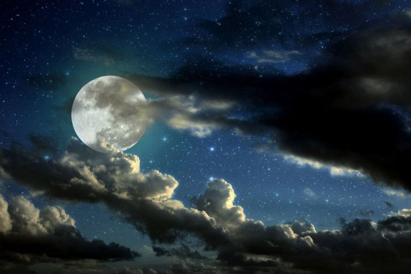 1920 x 1200 jpeg 264kB, Beautiful Stars and Moon HD Wallpapers