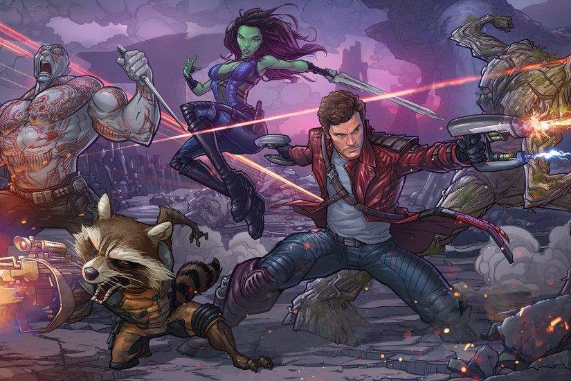 Marvel Guardians Of The Galaxy Artwork