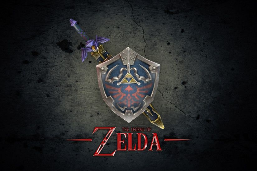 logo game zelda wallpaper - http://69hdwallpapers.com/logo-game