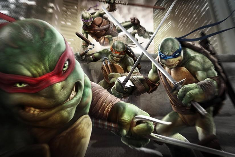 Teenage Mutant Ninja Turtles Out Of The Shadows Game Wallpaper .