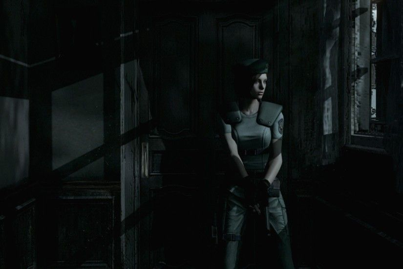 Resident Evil, Resident Evil HD Remaster, Jill Valentine, Spencer mansion