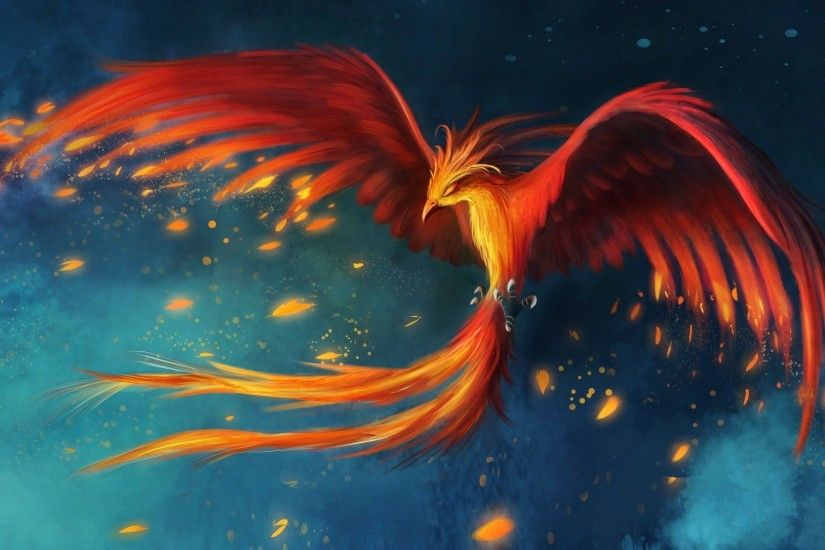 phoenix bird wallpaper