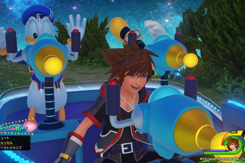 Gameplay Kingdom Hearts 3 4K Wallpaper
