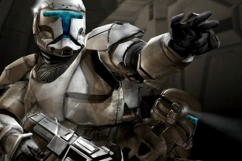 My take on the Star Wars Clone Troopers from the Republic Commando computer  game.