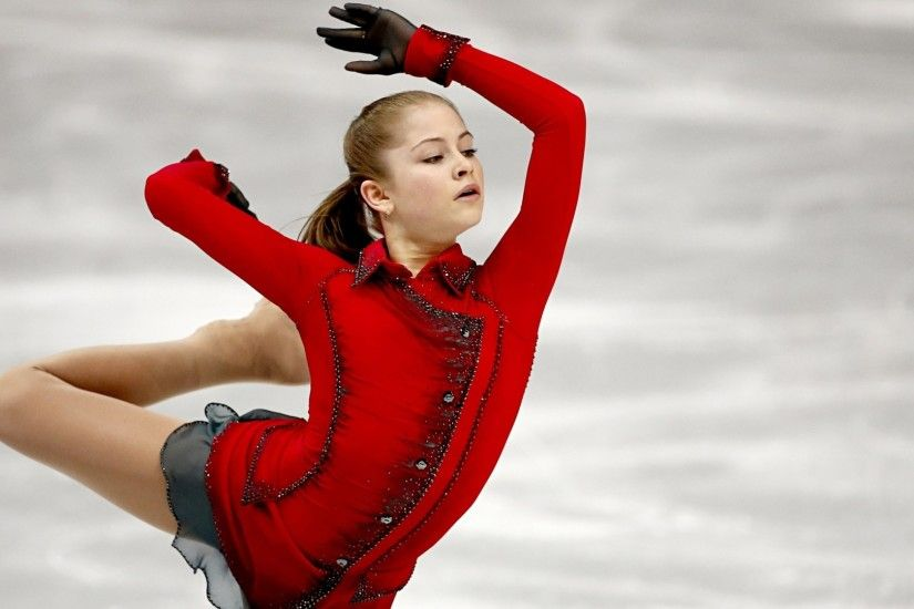Preview wallpaper julia lipnitskaya, figure skating, figure skater, sochi  2014 olympic winter games