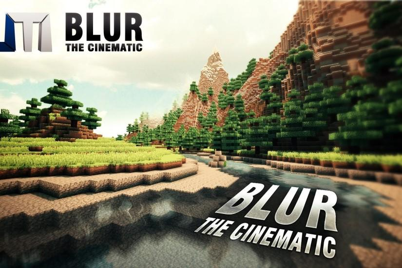 BLUR - Minecraft Cinematic (w/ Sonic Ether's Shaders + Water Shader + Real  Clouds + Mountain Map) - YouTube
