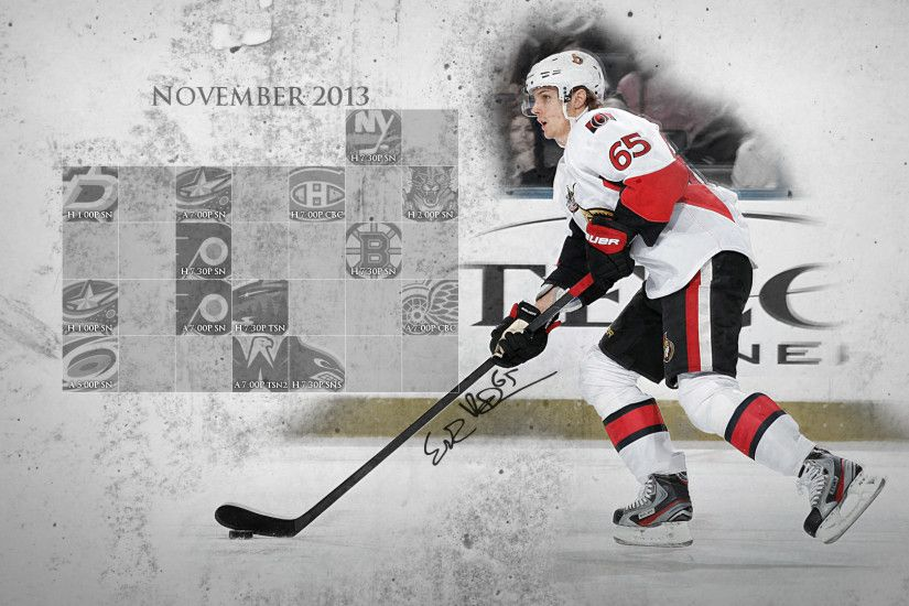 2013-14 OTT Desktop Wallpaper Calendars | Turris, the Goal. Ottawa, the Win.