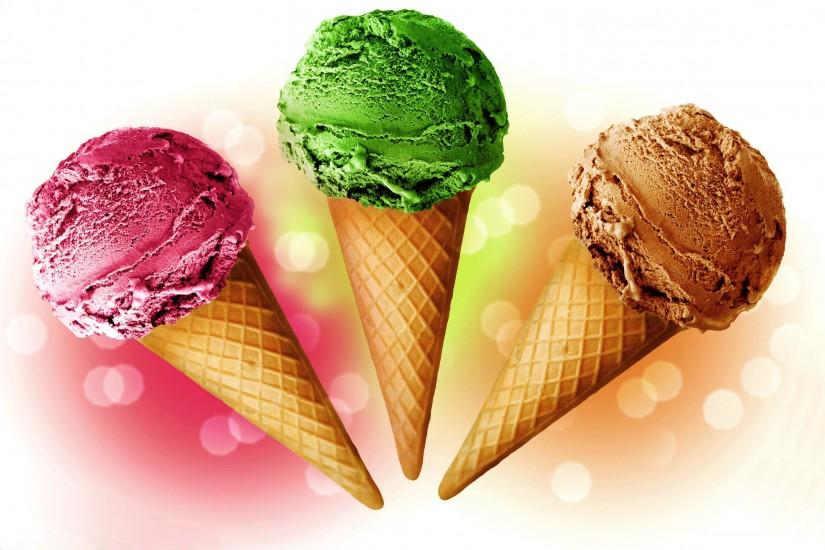 Wallpaper Ice cream, Color, Background