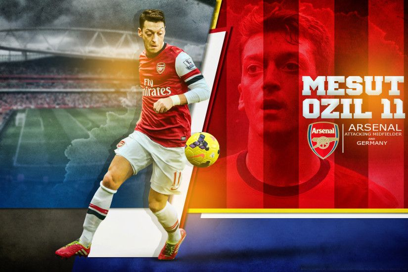 Arsenal Player Mesut Ozil New HD Wallpapers Free Download