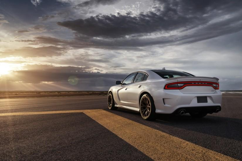Preview wallpaper dodge, charger, srt, hellcat, 2015, cars, road 1920x1080