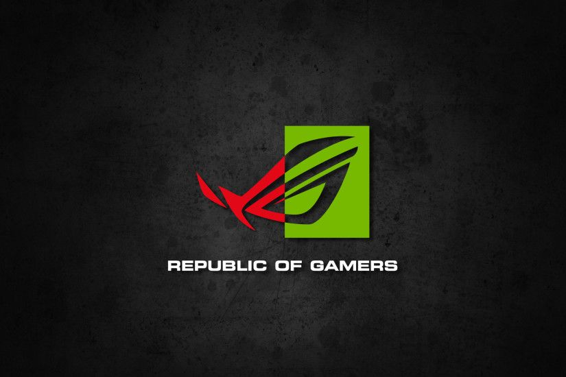 Republic of Gamers NVIDIA Wallpaper by biosmanager Republic of Gamers  NVIDIA Wallpaper by biosmanager