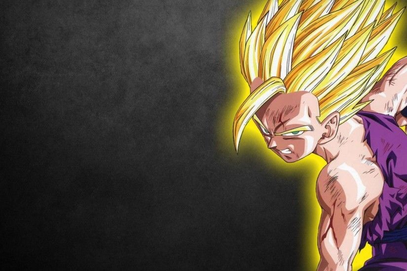 Wallpaper Son Gohan Hight Quality | Idiot Dollar