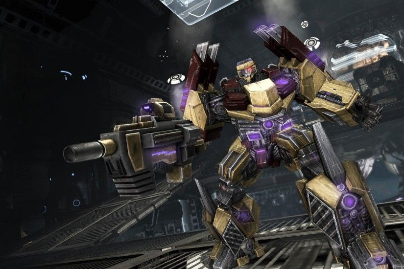 Transformers-Fall of Cybertron HD Game Wallpapers 01 .