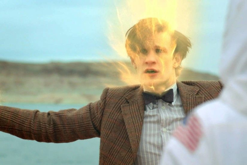 The Doctor Dies During Regeneration! - The Impossible Astronaut - Doctor  Who - BBC - YouTube