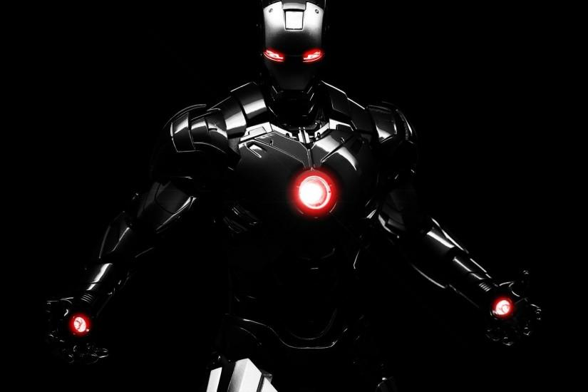 HD wallpaper new black iron man movie.