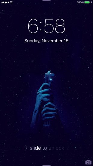 star wars live iphone wallpaper custom