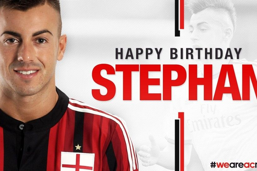 Buon Compleanno El Shaarawy! Happy Birthday Stephan! | AC Milan Official -  YouTube