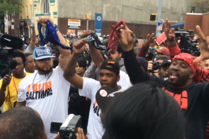 Crips and Bloods Unite to Show Support for Freddie Gray Indictment - NBC  News