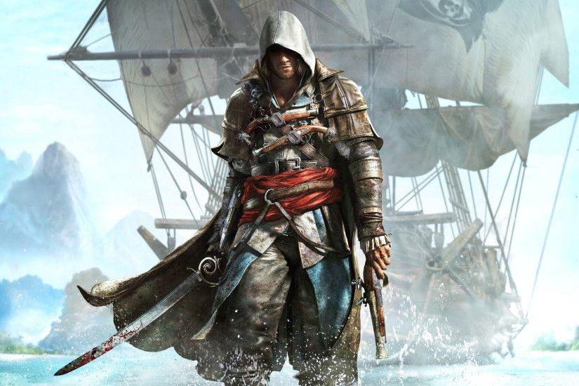 Video Game - Assassin's Creed IV: Black Flag Edward Kenway Wallpaper