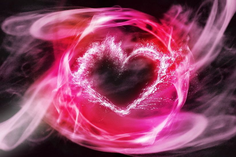 Flaming heart wallpapers and images - wallpapers, pictures, photos