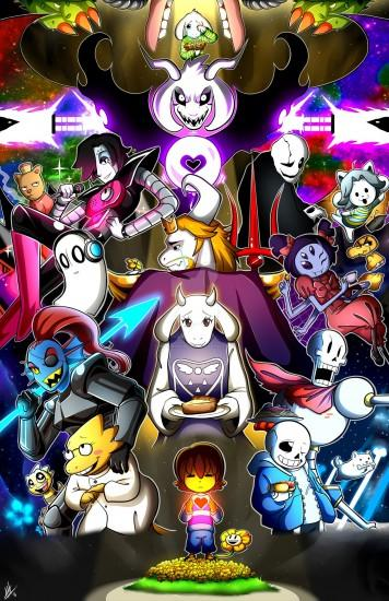 cool undertale wallpaper 1280x1978 pc