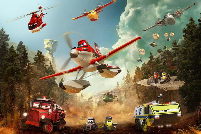 Planes Fire and Rescue Firefighter Dusty