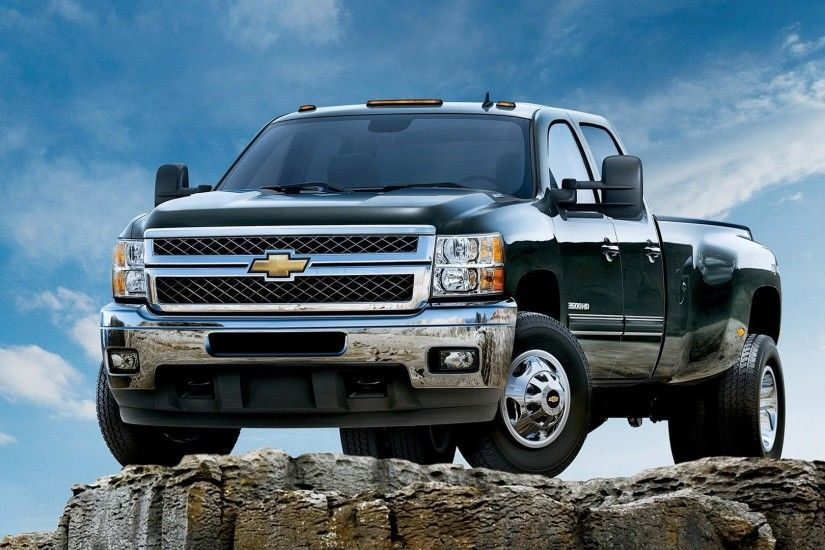 2014 Chevy Silverado Truck HD Wallpaper