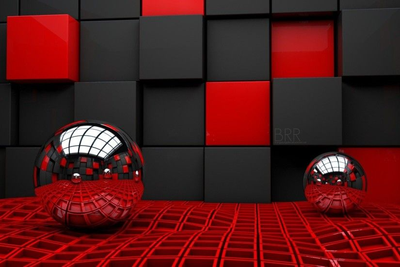 3d red wallpaper widescreen high resolution for desktop background pictures  free