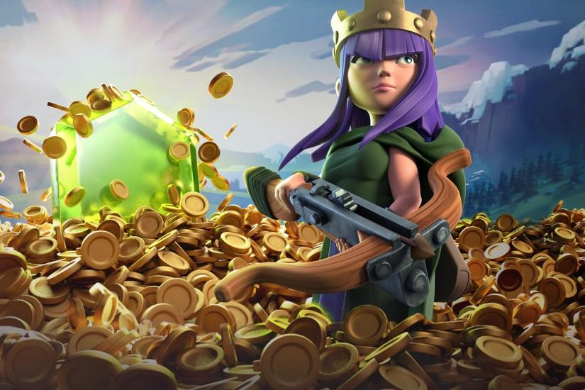 download free clash of clans wallpaper 2048x1152 for ios