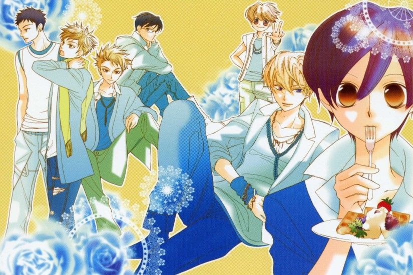 Desktop Background - ouran highschool host club