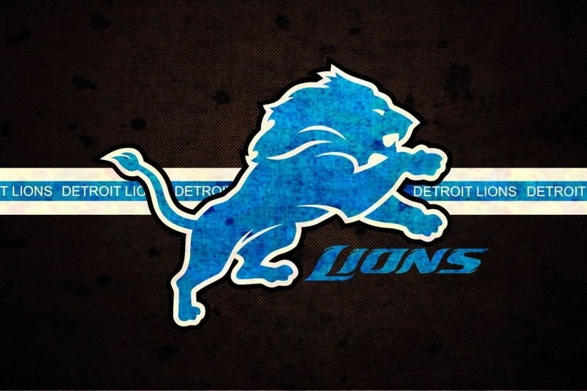 Detroit Lions illustration, Detroit Lions, American football, NFL, logo HD  wallpaper