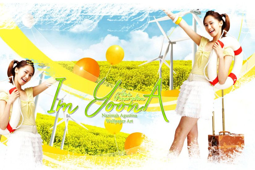 ... im yoona holiday snsd travel girls generation by nazimah wallpaper