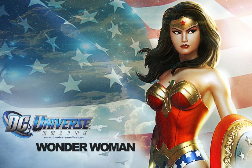 Wonder Woman in DC Universe Online