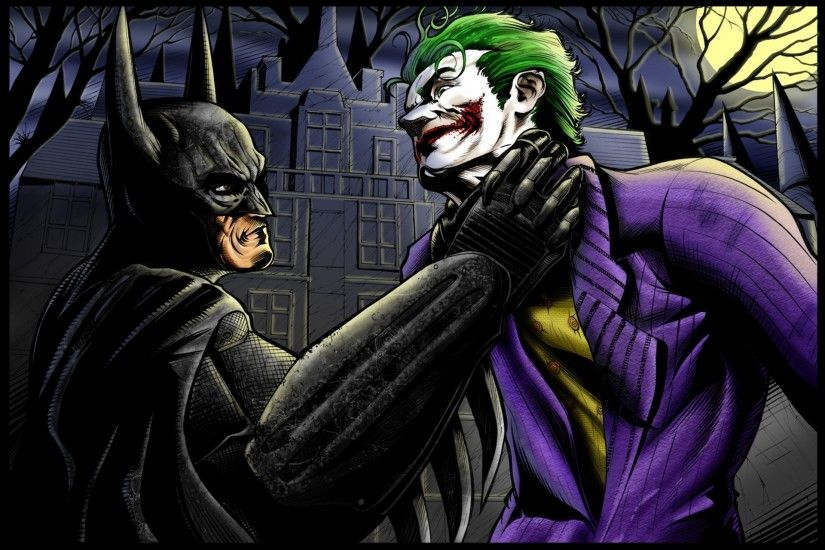 Comics - Batman Batman: Arkham Asylum Joker Wallpaper