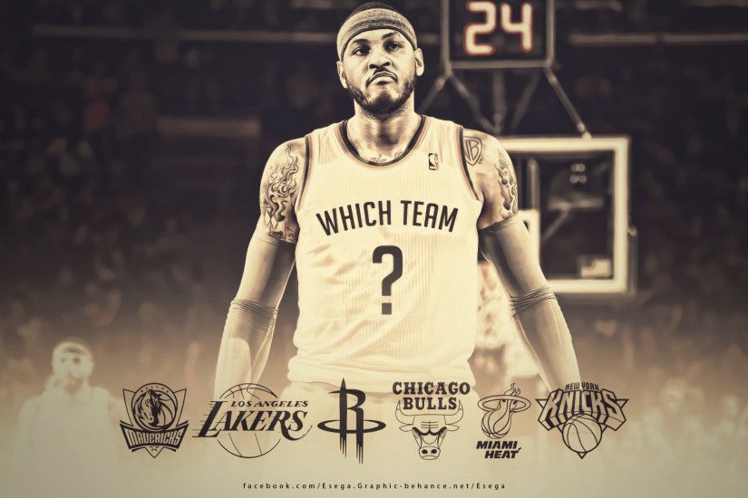 Carmelo Anthony 2014 Free Agency Wallpaper
