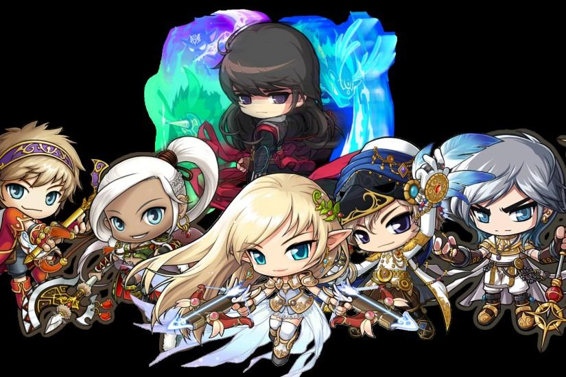 The world of MapleStory was Maplestory Cygnus Knights Wallpaper ...