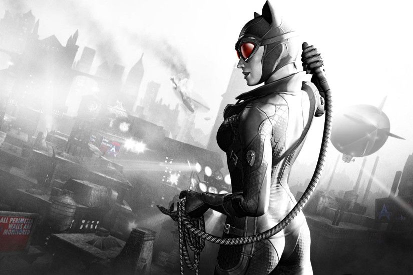 Catwomen Arkham City – 1080p HD Wallpaper for Desktop