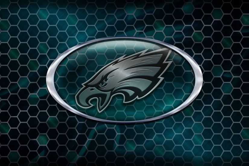 philadelphia eagles logo wallpapers hd background download free