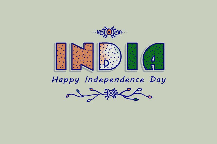 1920x1200 Indian Independence Day 2018 Greetings