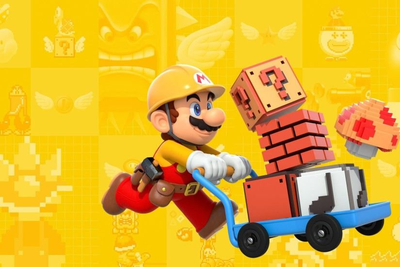 HD Wallpaper | Background ID:683859. 1920x1080 Video Game Super Mario Maker