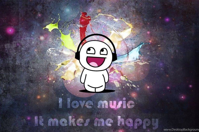 Wallpapers Graffiti Love Music It Makes Me Happyx Pics 2560x1600 .