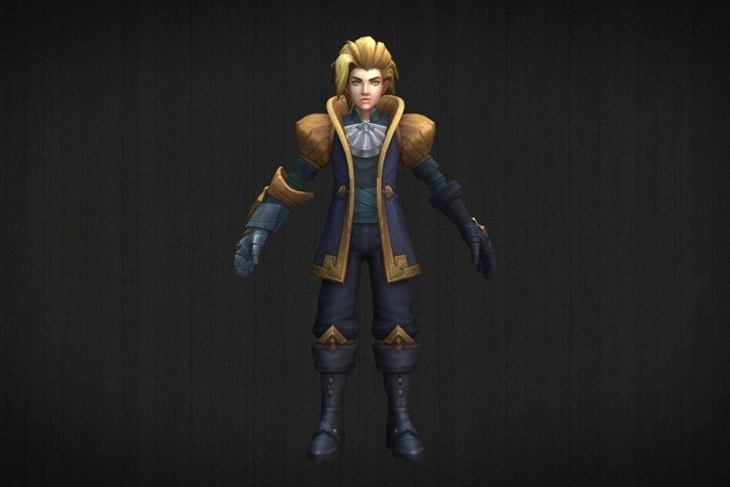 ... Ace of Spades Ezreal - 3D Model + DL by LoL3DModels