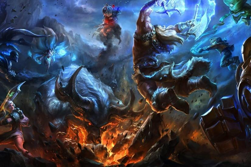 large league of legends wallpaper 1920x1080 x for windows 10
