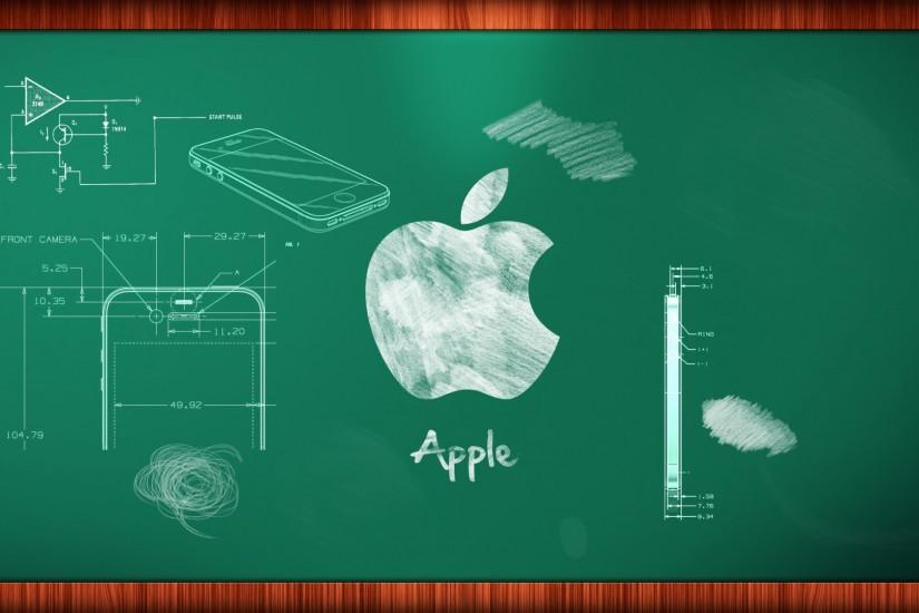Apple Chalk Board Wallpaper Amazing High Resolution.