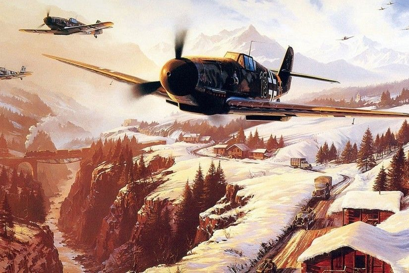landscape, World War II Wallpapers HD / Desktop and Mobile Backgrounds  1920x1080