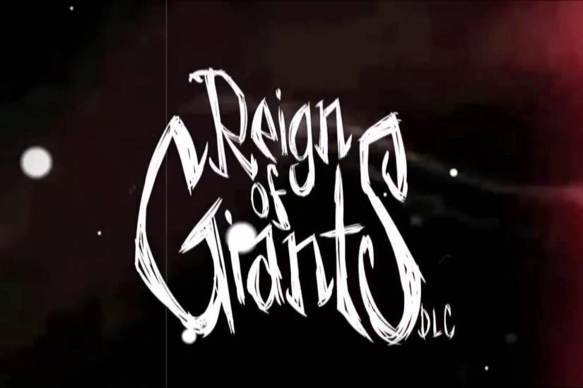 Don't Starve: Reign of Giants Expansion - Winter Teaser
