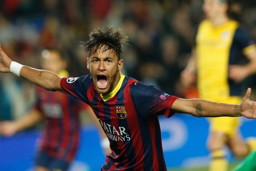 Neymar screaming Barcelona 2015 wallpaper - Neymar Wallpapers
