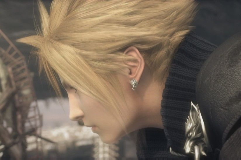 Movie - Final Fantasy VII: Advent Children Cloud Strife Wallpaper