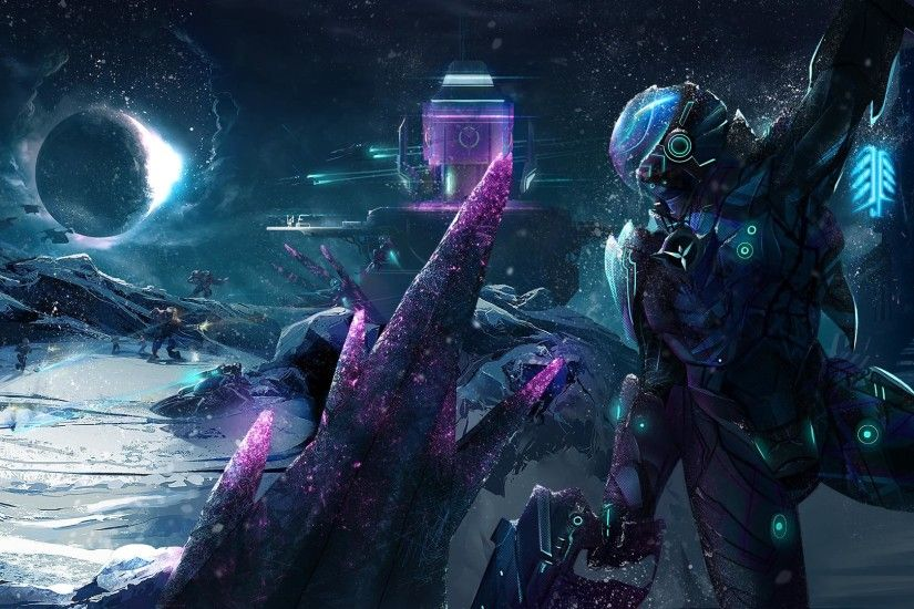 Here is a Planetside 2 fan art ...
